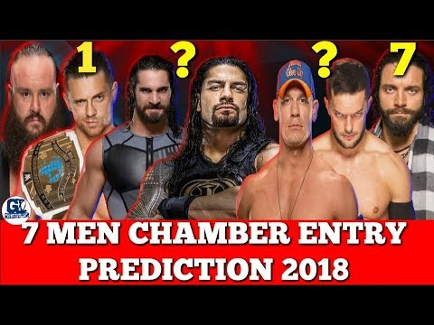 7 Men Superstar Entry Prediction in Elimination Chamber 2018