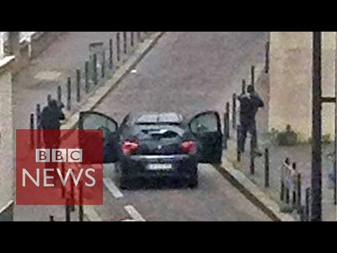 Paris - At least 12 people have been shot dead in Paris - 2 of them police officers - after masked men stormed the offices of a French magazine. 10 others have been ...