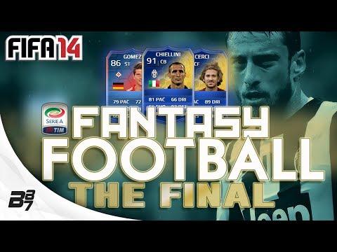 FANTASY FOOTBALL TOTS SERIE A FINAL VS MRFIFASA | FIFA 14 Ultimate Team