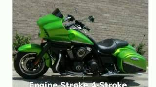 1. 2012 Kawasaki Vulcan 1700 Vaquero - Specification and Specs
