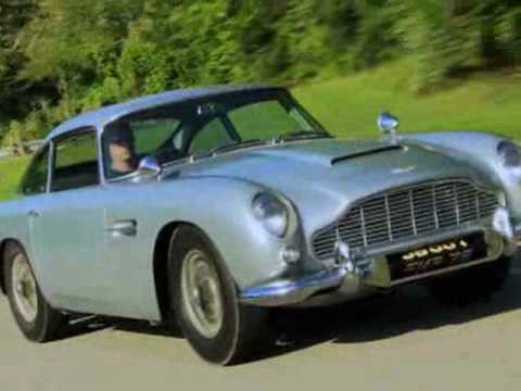 James Bond Aston Martin w/ working gadgets