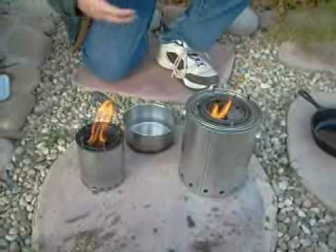 The Gasifier Camp Stove