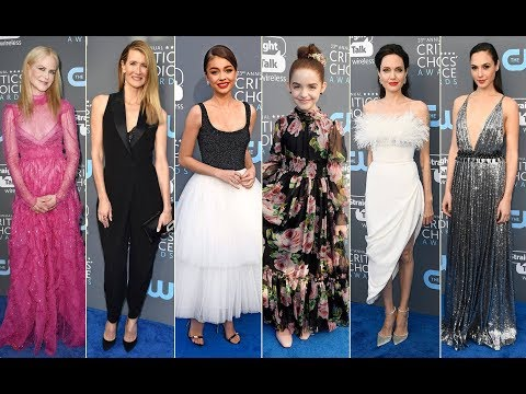 CRITICS' CHOICE Awards 2018 - Red Carpet