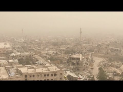 Aleppo, in Syria the war continues