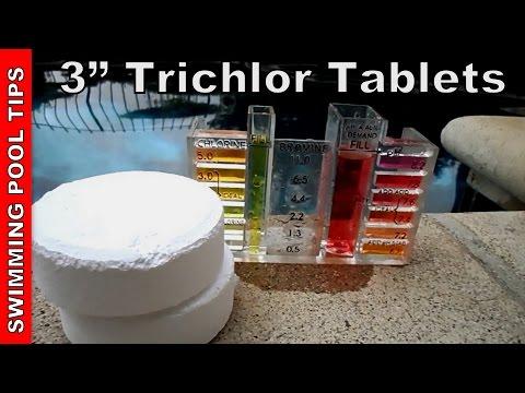 3″ Trichlor Chlorine Tablets, User Guide