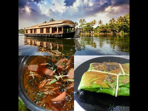 Video Kerala House Boat Special || Kerala Chicken Curry || Fish Roasted in Banana Leaf download in MP3, 3GP, MP4, WEBM, AVI, FLV January 2017