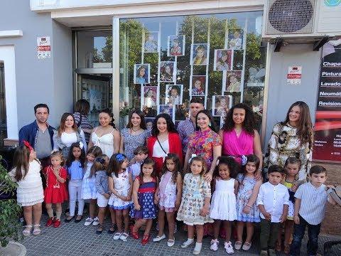 Inauguración Escaparate Corte de Honor Infantil Fiestas María Auxiliadora de Pozo del Camino