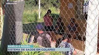 Covid-19: unidades de saúde de Marília estão lotadas