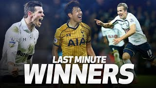 Video SPURS' MOST DRAMATIC INJURY-TIME WINNERS | ft. Harry Kane, Gareth Bale and Heung-min Son! MP3, 3GP, MP4, WEBM, AVI, FLV Agustus 2019