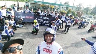 Sungkai Malaysia  city photo : VLOG - RIDE ALONG WITH R25 MALAYSIA TO SUNGKAI & TELOK INTAN 2016 Feat TAKONG RACING