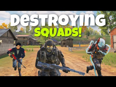 DESTROYING SQUADS w/ KVLEOFFICIAL & NEVVADO | CALL OF DUTY MOBILE BATTLE ROYALE