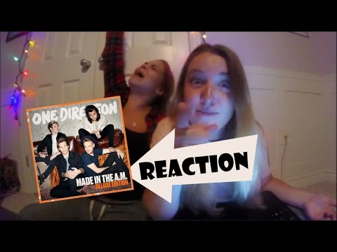 ONE DIRECTION'S MADE IN THE AM REACTION