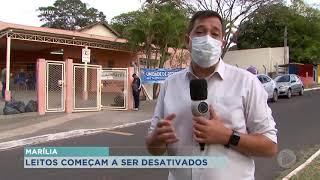 Após queda de casos, unidades de saúde começam a ser desativadas em Marília