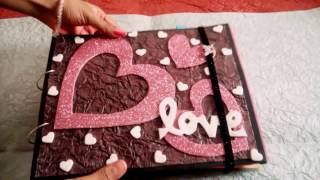 Lovely handmade scrapbook greeting card.... For someone special...😘
