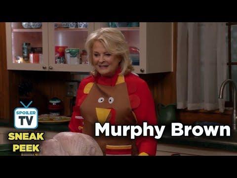 """Murphy Brown 11x09 Sneak Peek 2 """"Thanksgiving and Taking"""""""