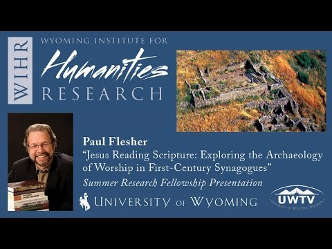 Jesus Reading Scripture: Exploring the Archaeology of Worship in First-Century Synagogues