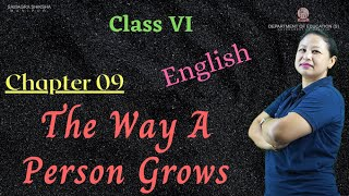 Class VI English Chapter 9: The way a person grows
