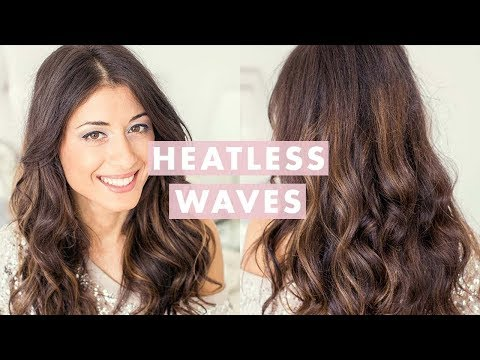 luxy hair - LIKE this video if you want to see Heatless Curls Hair Tutorial. This method of creating Heatless waves is super easy and fast. It looks great and actually l...