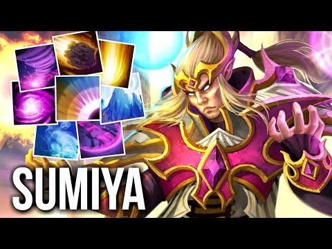 Perfect Combos Invoker SumiYa Top 1 Invoker China Epic Gameplay 7.04 Dota 2