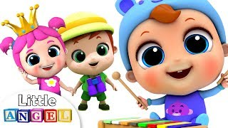Video 🔴 LIVE Nursery Rhymes on Little Angel: Wheels on the Bus, Itsy Bitsy Spider and More Kids Songs MP3, 3GP, MP4, WEBM, AVI, FLV September 2018