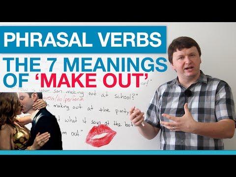 (videó) Gyakorold ingyen és online az angol igevonzatokat! - a Make out 7 jelentése