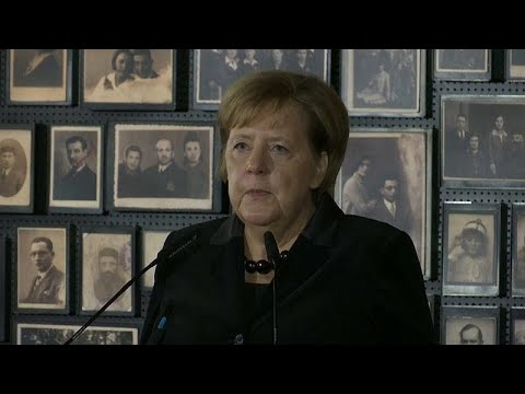 Για πρώτη φορά η Άνγκελα Μέρκελ στο Άουσβιτς