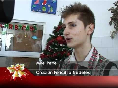 Crăciun Fericit la Nedelea