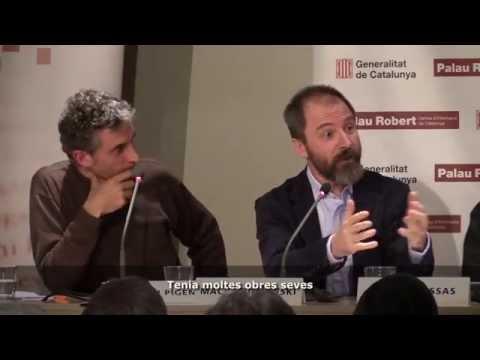 Jordi Pigem, Antoni Bassas i Maciej Bielawski van presentar 'Panikkar. Una biografia'