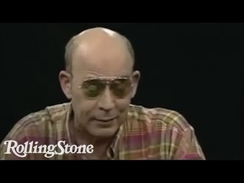 Five Things You Didn't Know About Hunter S. Thompson
