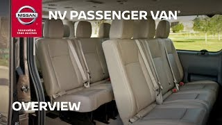 1. Nissan NV Passenger Van Overview