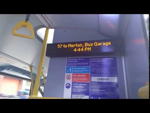 57 To Merton Bus Garage *iBus*