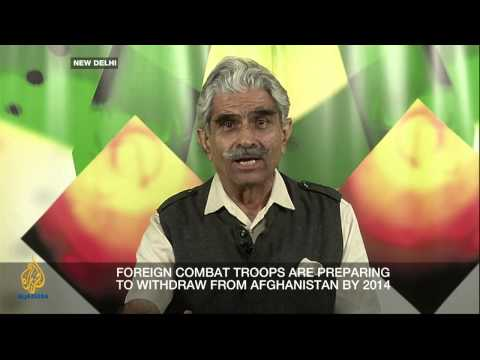 pak - What does India's growing influence in Afghanistan mean for this volatile region? Inside Story, with presenter Laura Kyle, discusses with guests : Haseeb Hum...