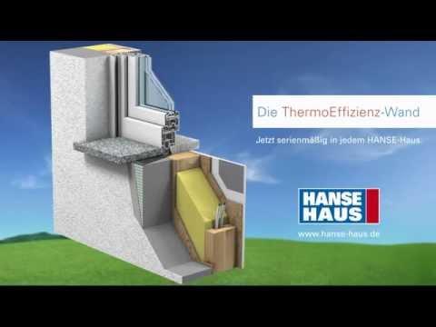 Hanse Haus Wandaufbau