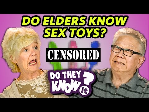 DO ELDERS KNOW SEX TOYS? (REACT: Do They Know It?) (видео)