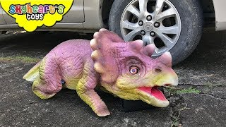 Video BABY TRICERATOPS lost in the jungle   Skyheart found baby dinosaurs for kids in jurassic world MP3, 3GP, MP4, WEBM, AVI, FLV Maret 2018