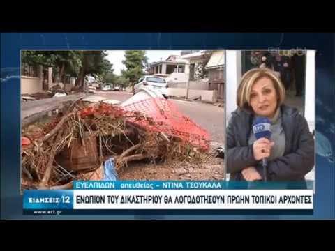 Ξεκίνησε η δίκη για τις φονικές πλημμύρες στη Μάνδρα | 24/01/2020 | ΕΡΤ
