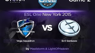 Evil Genuises vs Vega, game 2