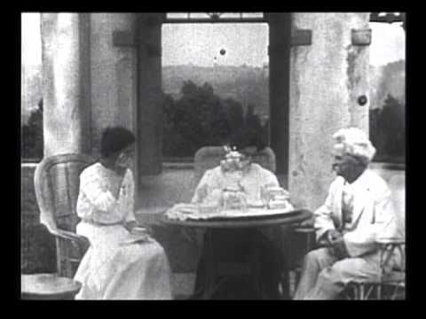Mark Twain | Edison Film | Digitally Restored