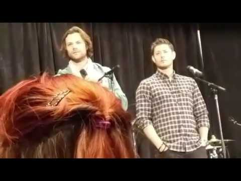 ATLCON 2016 Jensen And Jared Gold Panel (most) Via Periscope By @SPN_sillysil