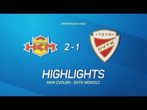 14. forduló: HKM Zvolen - DVTK Jegesmedvék 2-1