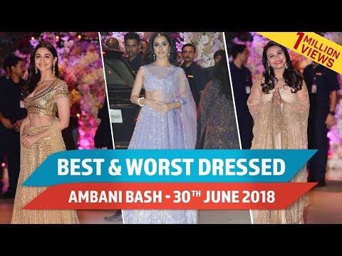 Video Aishwarya Rai Bachchan, Alia Bhatt, Ranbir Kapoor : Best and Worst Dressed at Ambani Bash - June 30 download in MP3, 3GP, MP4, WEBM, AVI, FLV January 2017