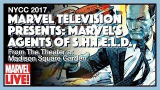 Video Marvel's Agents of S.H.I.E.L.D. Panel at Madison Square Garden - NYCC 2017 MP3, 3GP, MP4, WEBM, AVI, FLV Oktober 2017