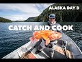 Download Lagu GIANT ALASKAN ROCKFISH CATCH AND COOK! Alaska day 3!! Mp3 Free