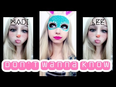 "Maroon 5  ""Don't Wanna Know"" Cover by Madi Lee"