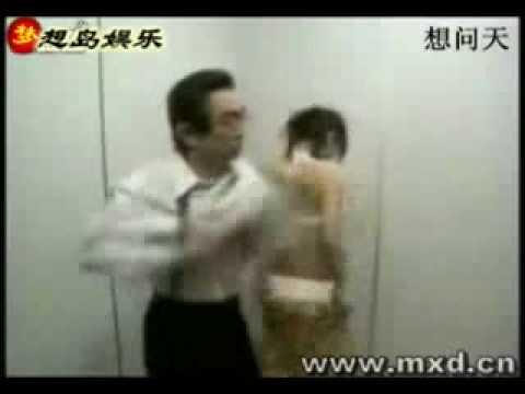 Развлечение в лифте