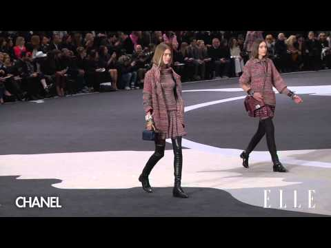 fw - collection movieはhttp://elle.co.jp/elletv シャネル 2013-14秋冬コレクション CHANEL collection in PARIS.