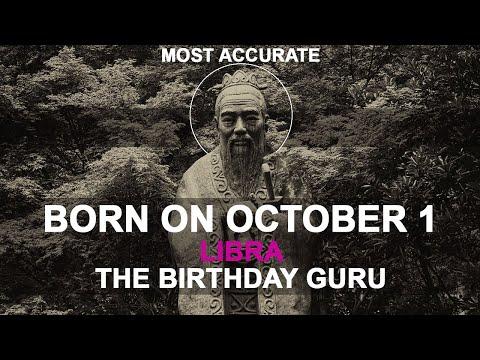 Born on October 1 | Birthday | #aboutyourbirthday | Sample | #birthdaygurutribemember