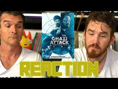 The Ghazi Attack - Trailer - Reaction!