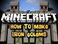 Cara Membuat Portal,Snow Golem,Iron Golem,Wither Boss [Minecraft]