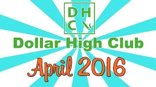 DOLLAR HIGH CLUB UNBOXING! (April 2016) by Strain Central